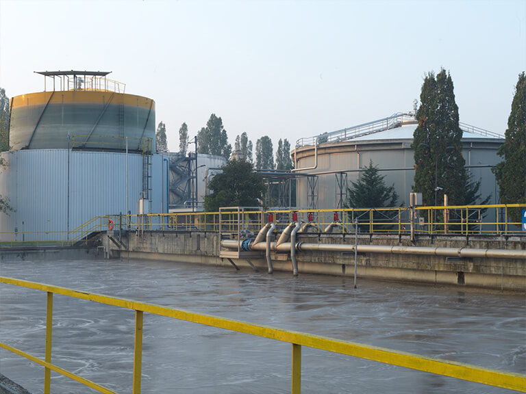 First biogas upgrading system installed for sewage sludge (Bresso-Milan)