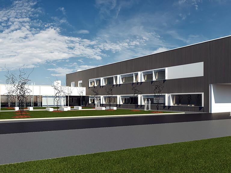 New Ecospray headquarters in Alzano Scrivia: work in progress